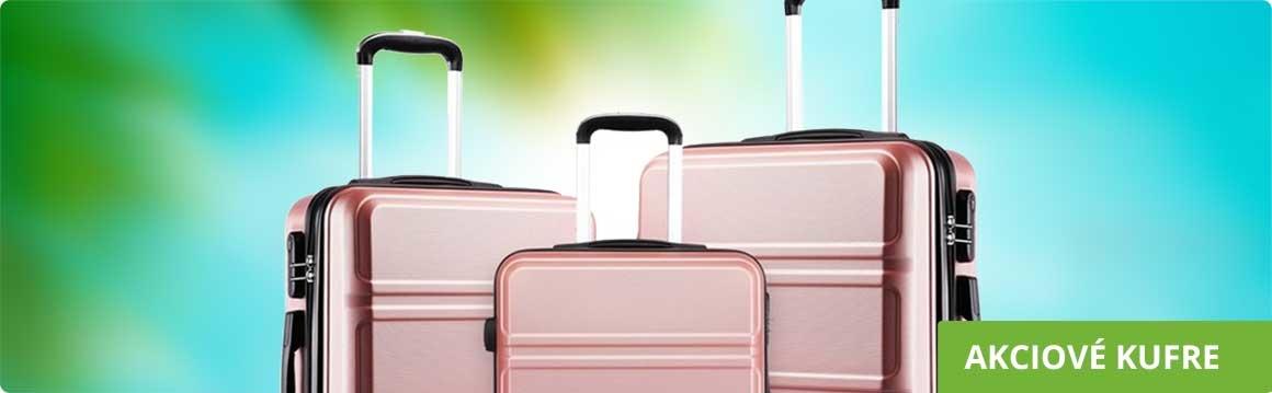 Akciové cestovné kufre