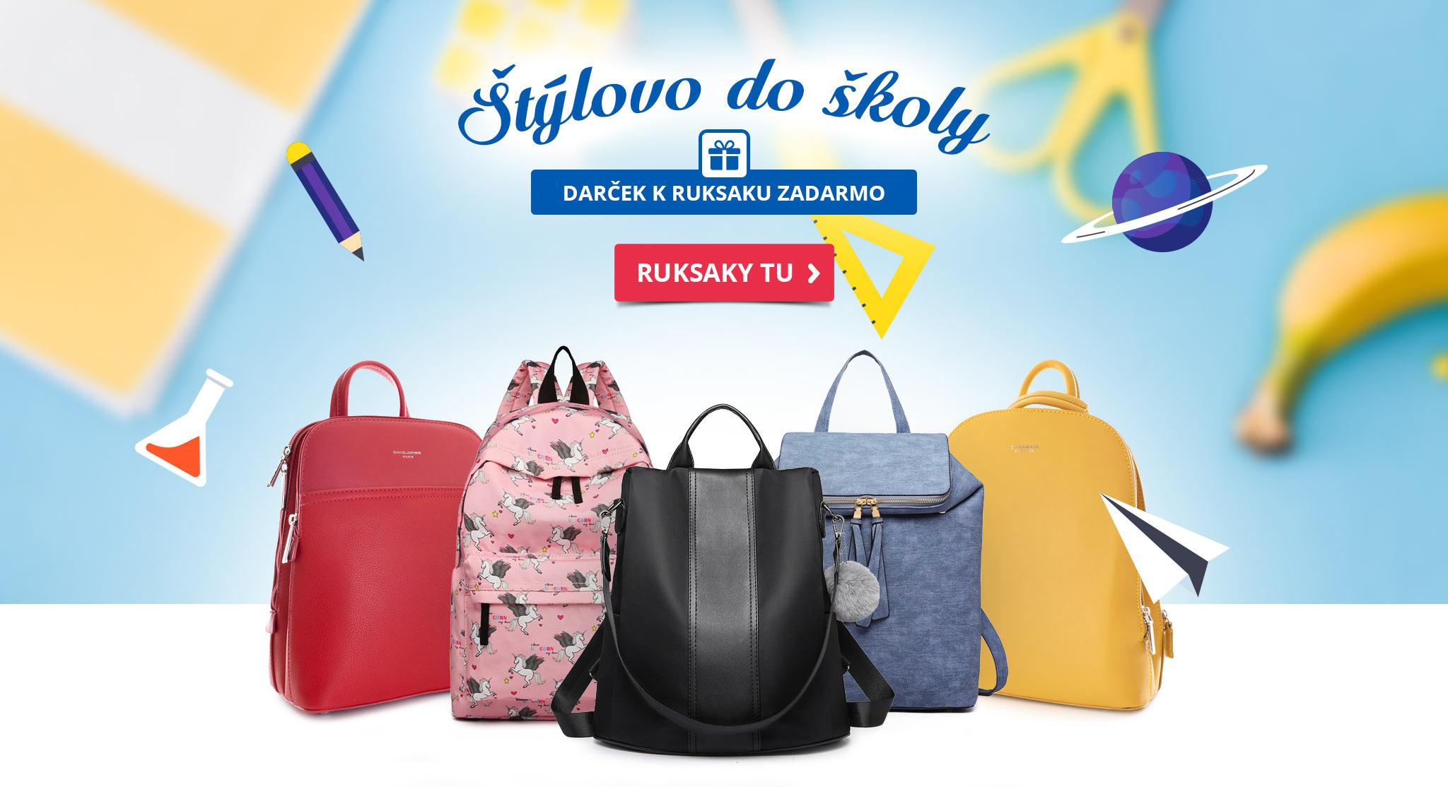 Štýlové ruksaky do školy