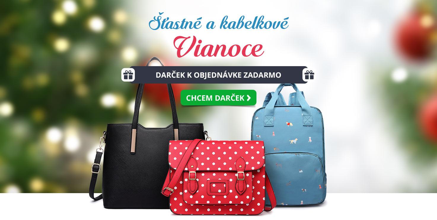 Šťastné kabelkové Vianoce - desktop