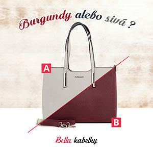 Výber farby kabelky