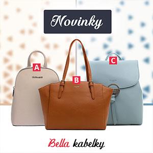 Nové kabelky a ruksaky na Bellakabelky
