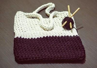 Pletené dámske tašky akabelky