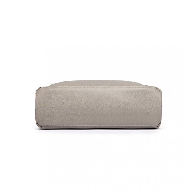 Kabelka - Dara, elegantná, grab, sivá