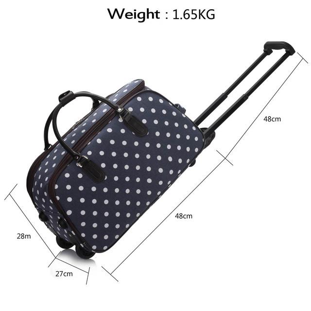 dfa43cbe51 Cestovná taška - bodkovaná