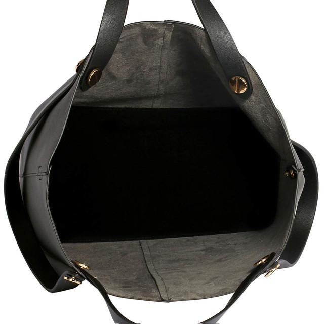 Kabelka - Zarah, eko kožená, grab, crossbody, čierna
