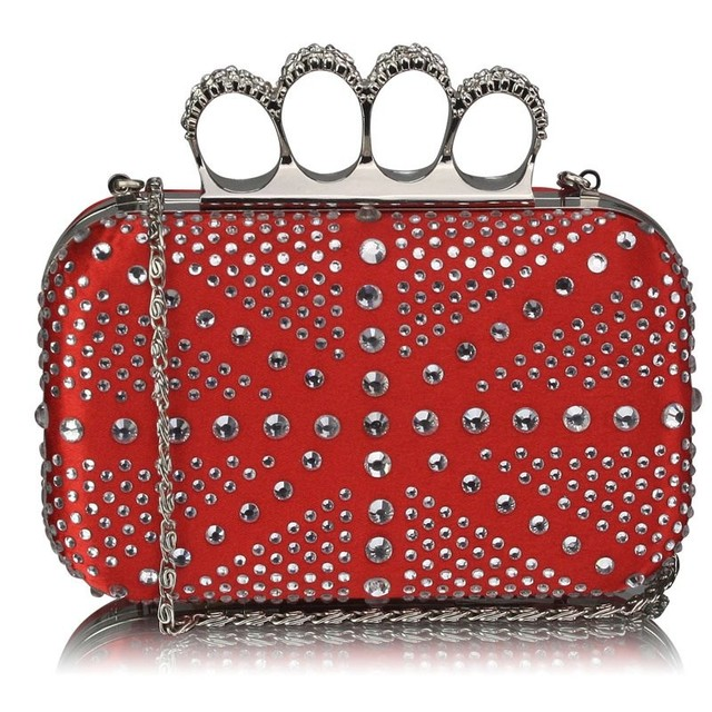 kabelka-cervena-spolocenska-prstencova-s-kamienkami