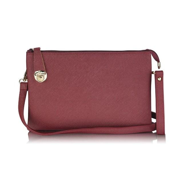 kabelka-burgundy-listova-jednofarebna-elegantna