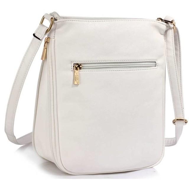 fc558a845 Kabelka - crossbody s malými vreckami, biela | Vypredané ...