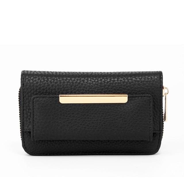 Peňaženka - s doplnkami, čierna