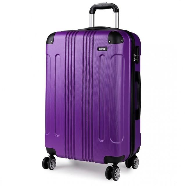 Set cestovných kufrov - pre rodinu, fialový