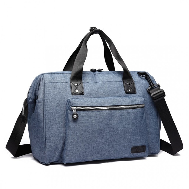 Taška - cestovná látková pre mamičky, modrá