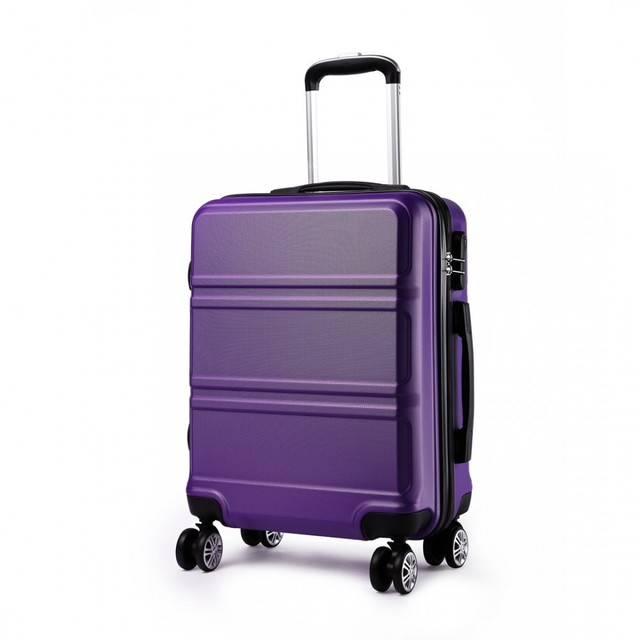 Cestovný kufor - Ariel, na kolieskach cestovný, fialový