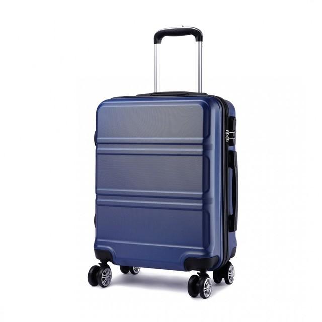 Cestovný kufor - Ariel, na kolieskach cestovný, tmavomodrý