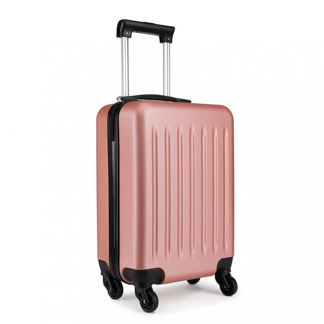 Set kufrov - rodinný, plastový, cestovný, telový