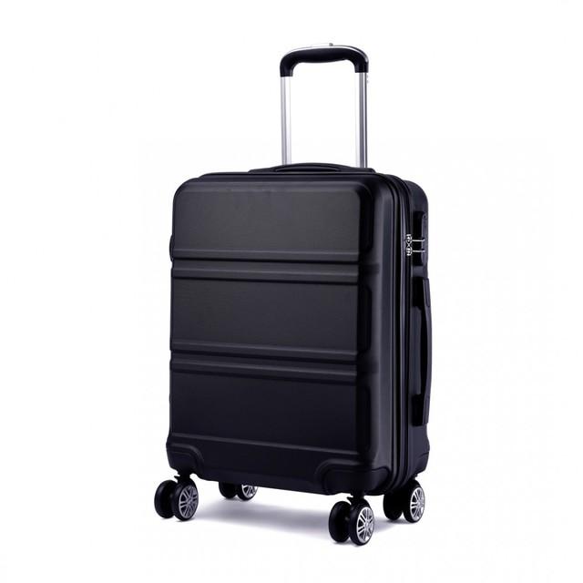 Cestovný kufor - Ariel, na kolieskach cestovný, čierny