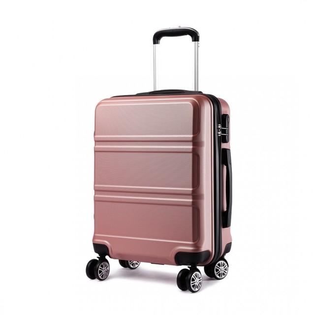 Cestovný kufor - Ariel, na kolieskach cestovný, telový