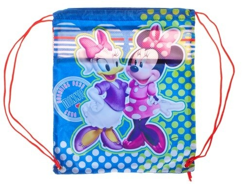 Batoh - Minnie Mouse, sťahovací, školský, farebný