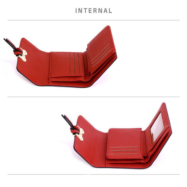 Peňaženka - Mickey mini eko kožená s doplnkami, červená