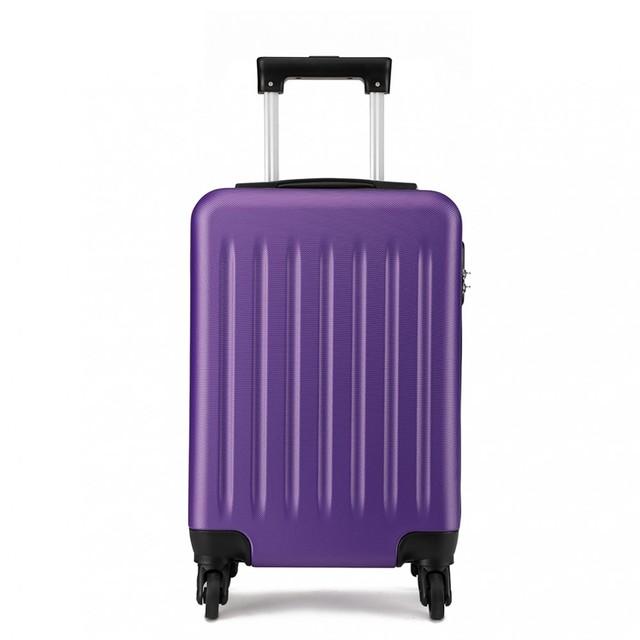 Kufor - Kono, príručný plastový na cesty, fialový