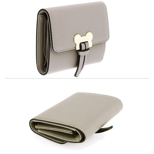 Peňaženka - Mickey mini eko kožená s doplnkami, šedá