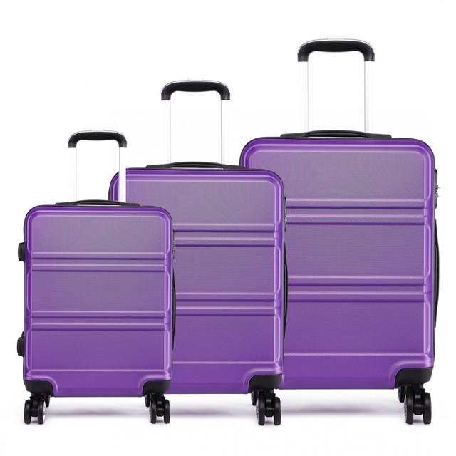 Set cestovných kufrov Ariel, fialový