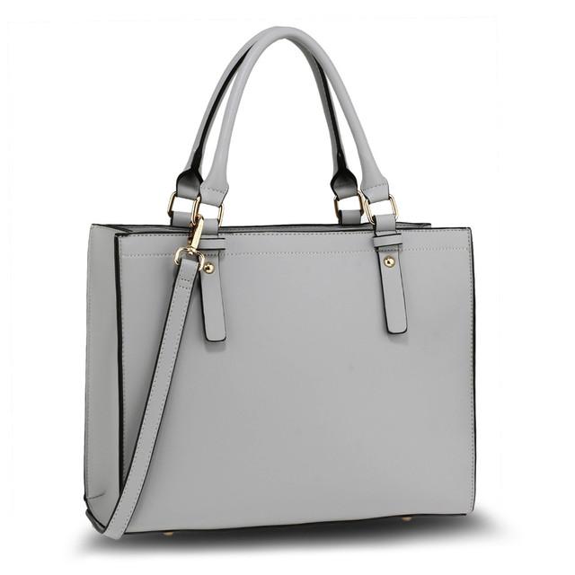 Kabelka - Irma, elegantná do ruky, šedá