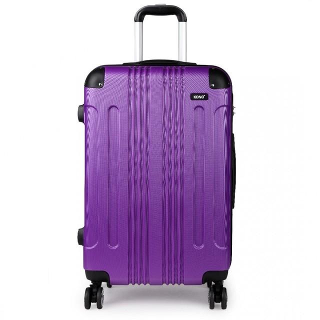 Kufor - Kono, unisex cestovný plastový malý, fialový