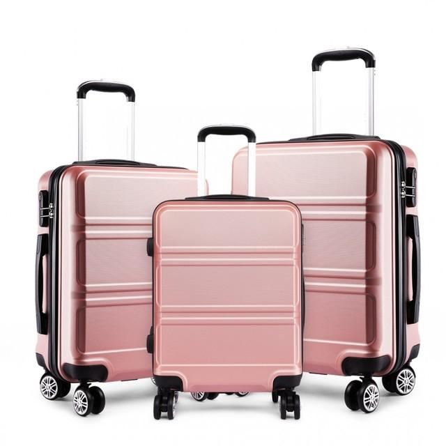 Set cestovných kufrov Ariel, telový