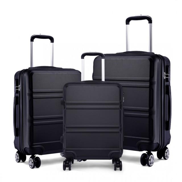 Set cestovných kufrov Ariel, čierny