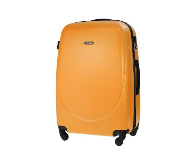 Kufor - pastelový veľký na cestovanie Solier, oranžový