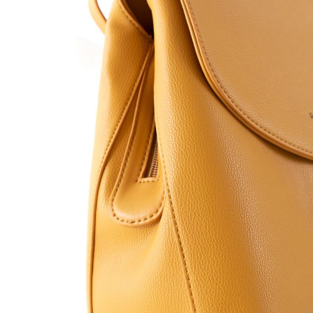 Batoh - Diana štýlový s doplnkami na cvok, žltý