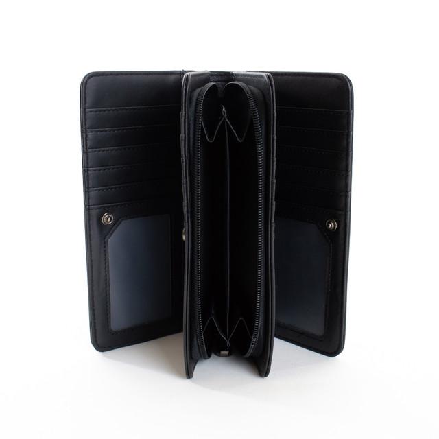 Peňaženka - elegantná Diana na karty, čierna