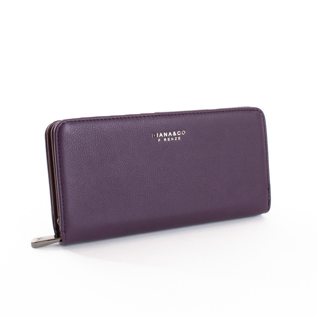 Peňaženka - elegantná Diana na karty, fialová