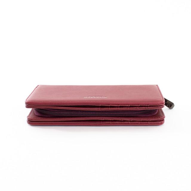 Peňaženka - elegantná Diana na karty, červená
