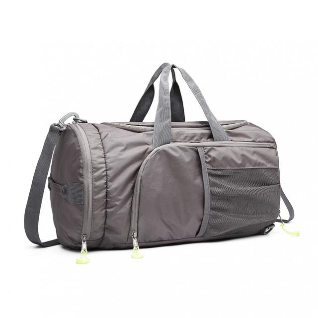 Taška - unisex v kombinácii s batohom, sivá