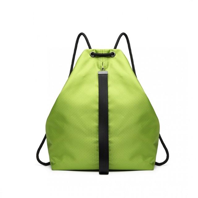 Ruksak - športový sťahovací KONO unisex, zelený