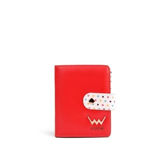 Peňaženka - Poppyna, dots do vrecka, červená