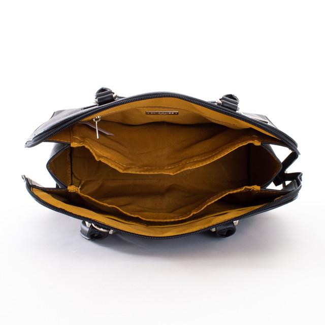 Kabelka - elegantná do ruky David Jones, čierna