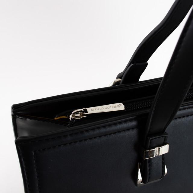 Kabelka - elegantná na rameno David Jones, čierna