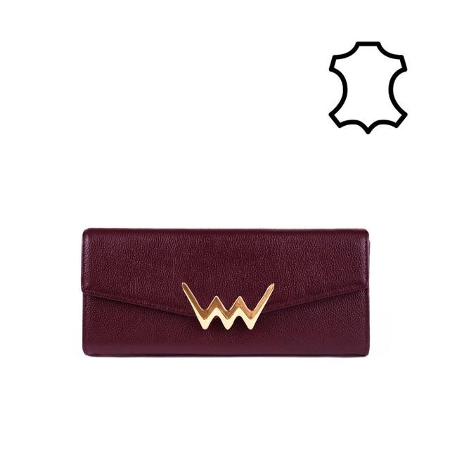 Peňaženka - Ronnie kožená, hnedá