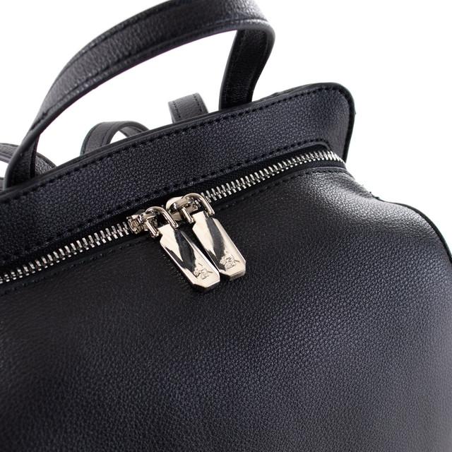Batoh - puzdrový na zips Diana, čierny