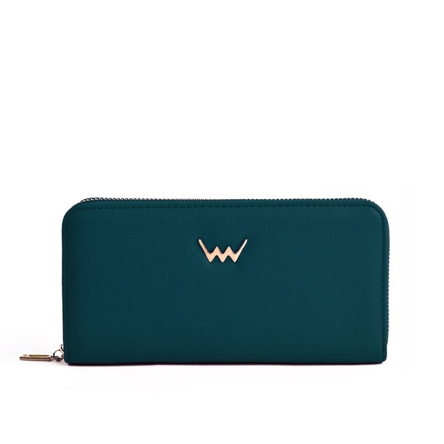 Peňaženka - Jordan na zips, tmavozelená