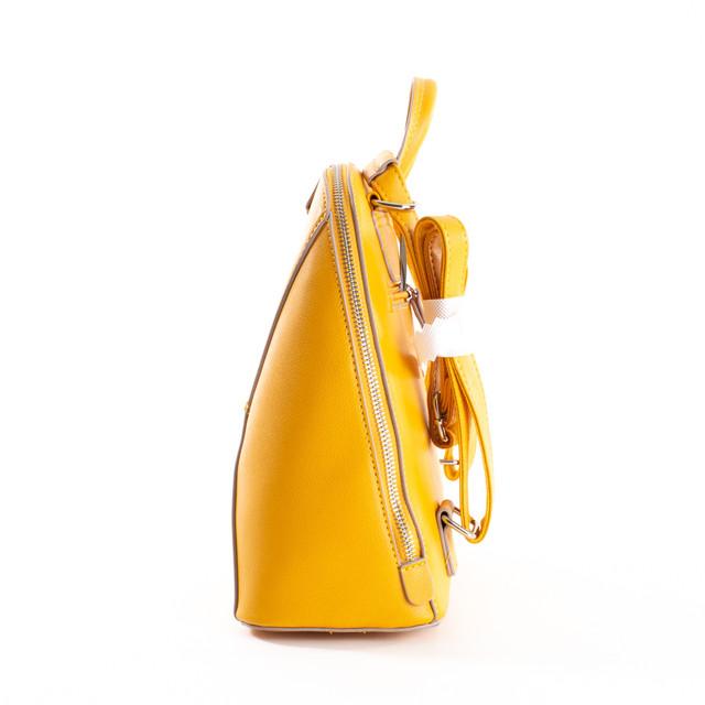 Batoh - prešívaný na zips Diana, žltý