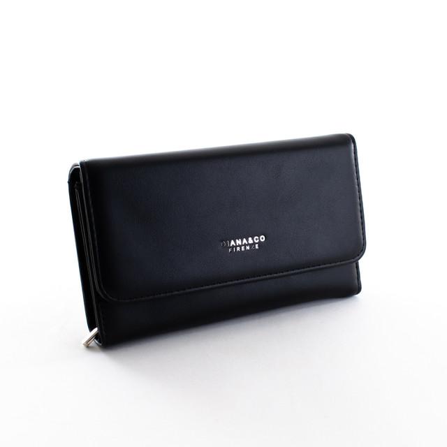 Peňaženka - Diana hladká veľká, čierna