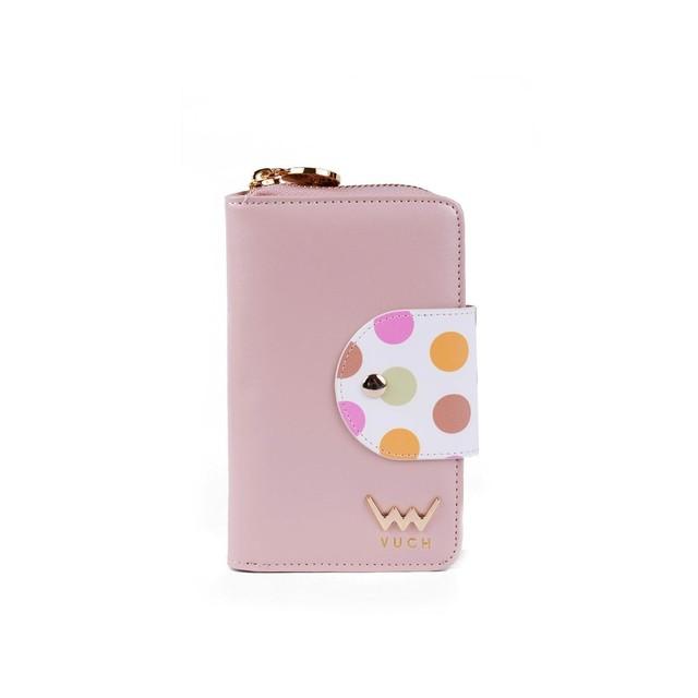 Peňaženka - Loris s bodkami, ružová