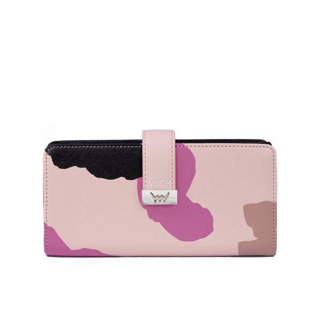 Peňaženka - Edit farebná ružová