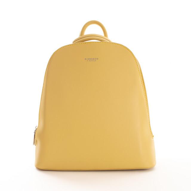Batoh - dvojzips Diana, žltý