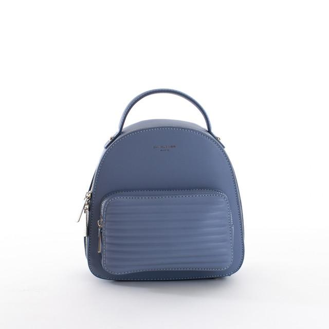 Batoh - mini zipsový David Jones, modrý
