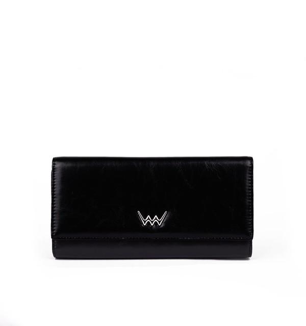 Peňaženka - Bette kožená, čierna