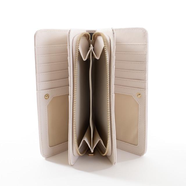 Peňaženka - elegantná Diana, béžová